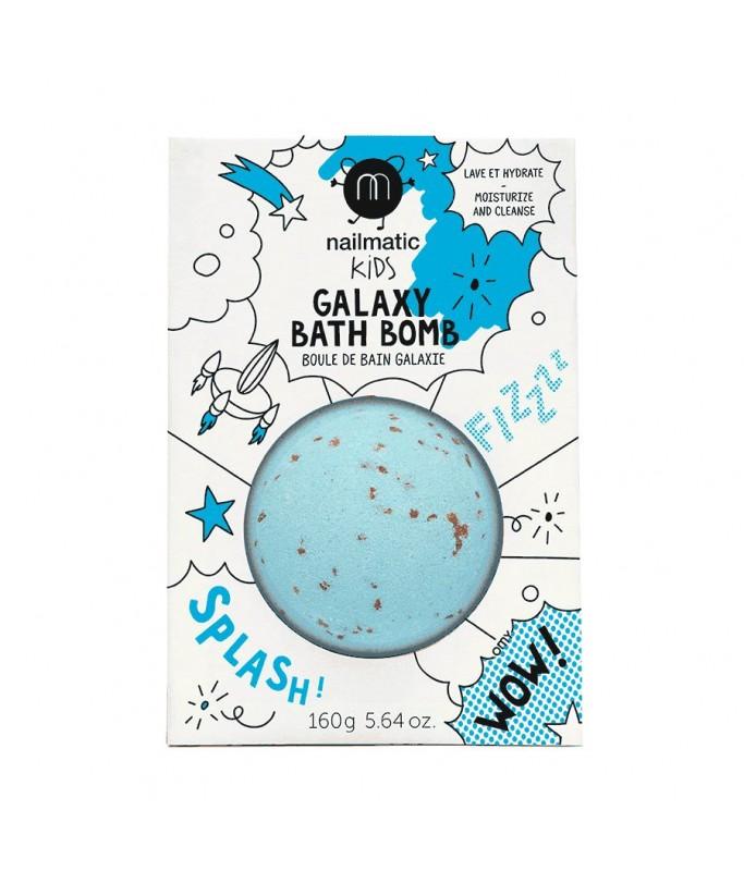 Boule de bain Comète bleu