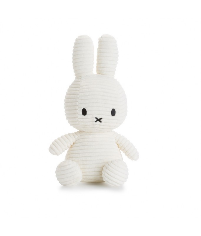 Miffy - Lapin velours cotelé blanc