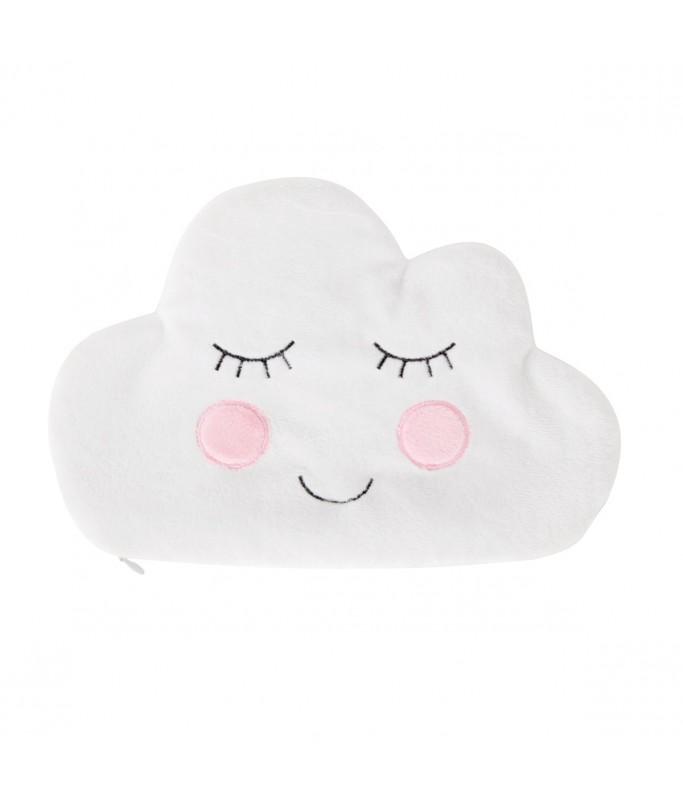 Pochette nuage en peluche