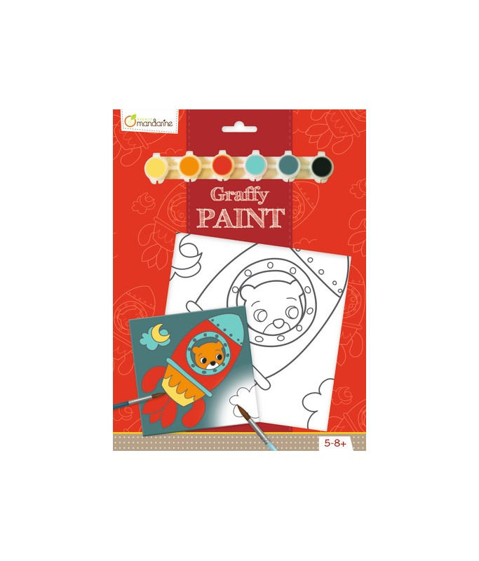 Graffy Paint Ours fusée