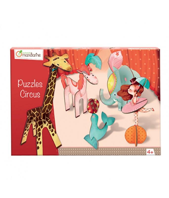 Puzzle Volume 3D Circus Fille