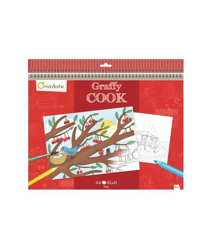 Set de table à colorier - Graphy Cook