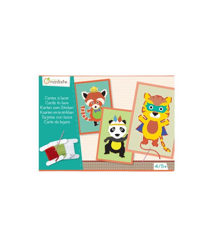 Boîte créative Cartes à Lacer