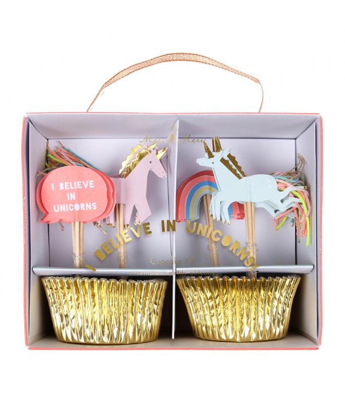 Kit Cupcake Licorne