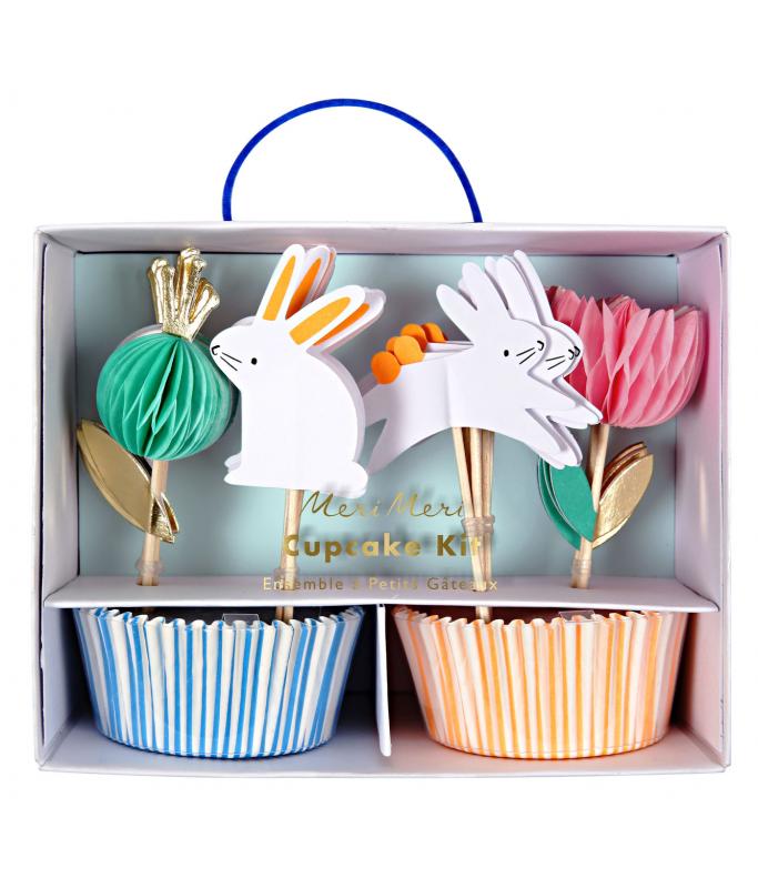 Kit Cupcake Lapin