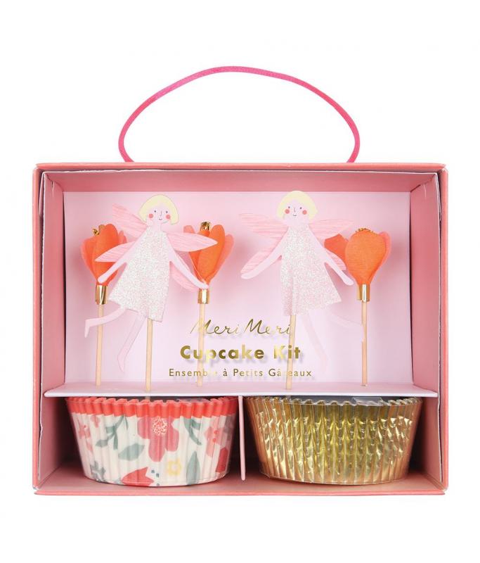 Kit Cupcake Fée