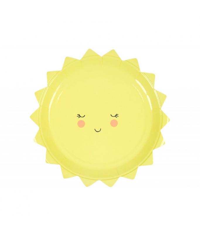 Assiettes Soleil