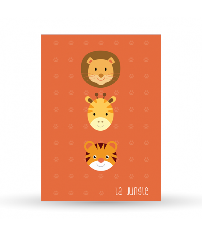 Carte postale La Jungle