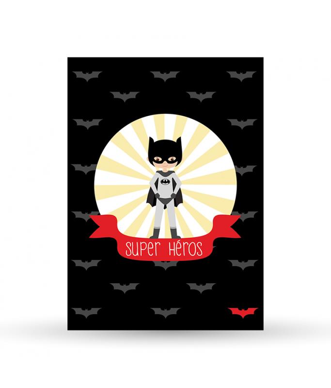 "Carte Postale ""Batman"""
