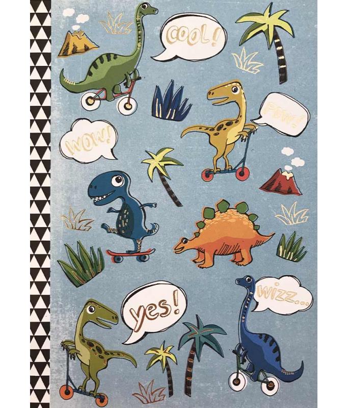 Petit cahier : dinosaures