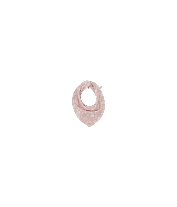 Bavoir bandana - adventure pink