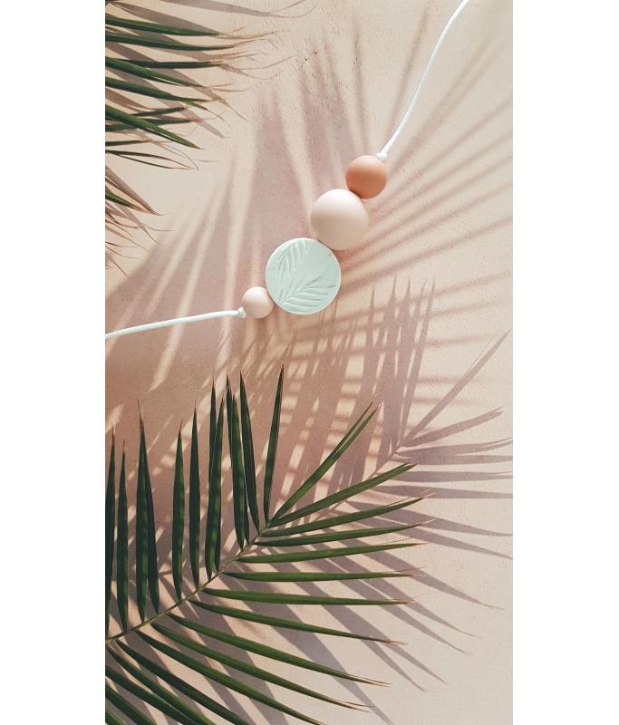 Sautoir silicone Palm Sunrise
