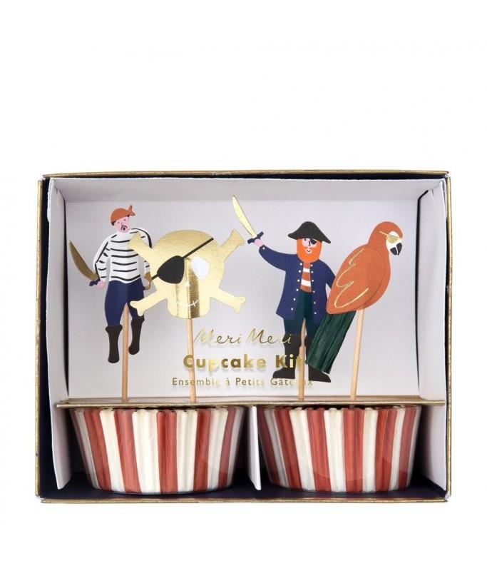 Kit Cupcake Pirates Bounty