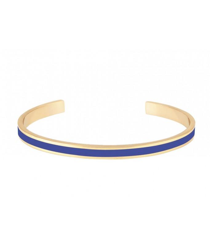 Jonc ouvert ajustable - Bleu Clematis