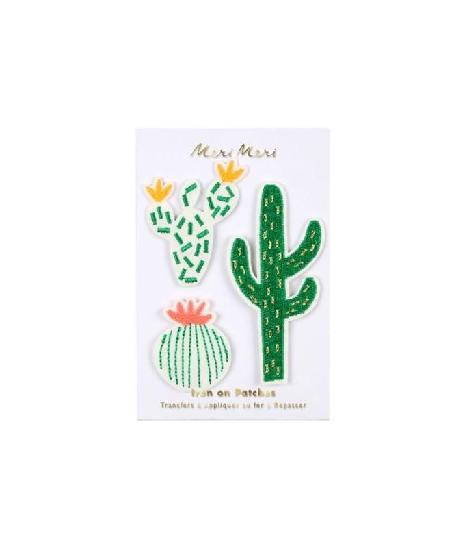 Ecussons cactus