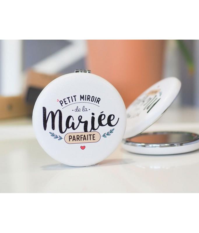 """Miroir """"Petit miroir de la mariée parfaite"""""""