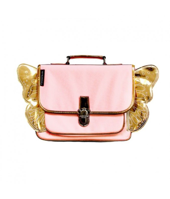 Cartable maternelle Ailes - Rose