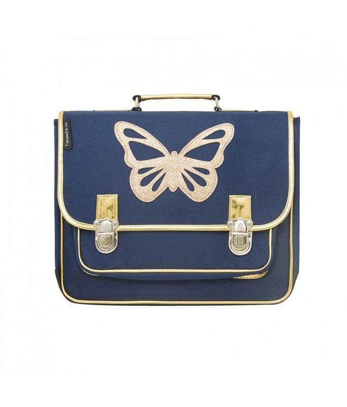 Cartable Medium  Papillon bleu