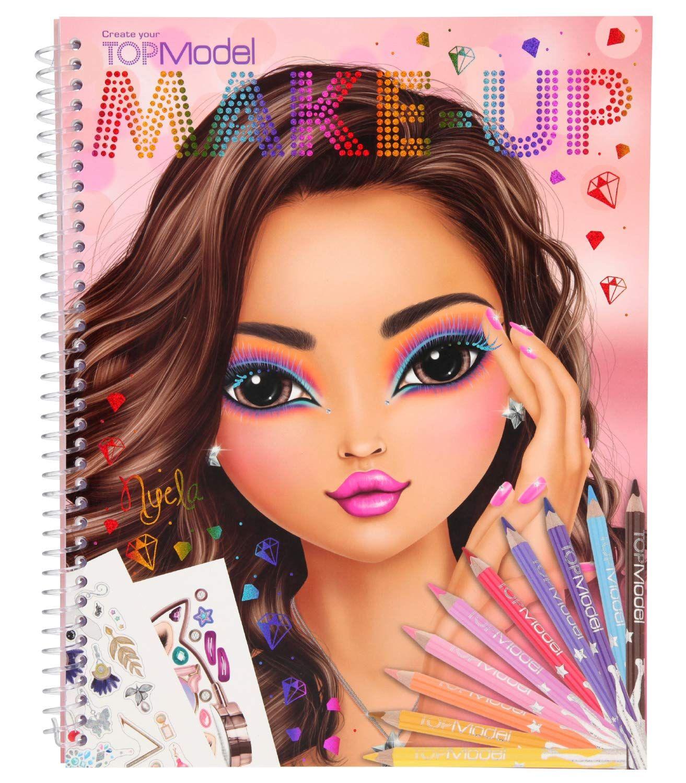 Livre De Coloriage Create Your Make Up