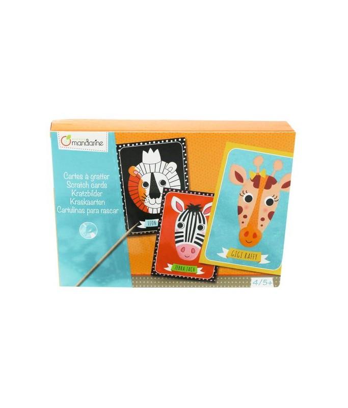 Boite creative Cartes à gratter