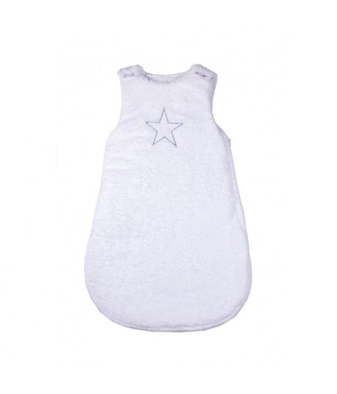 Gigoteuse étoile blanc 0-6M