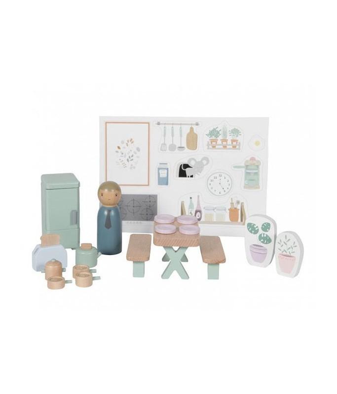 Maison de poupée :  Cuisine