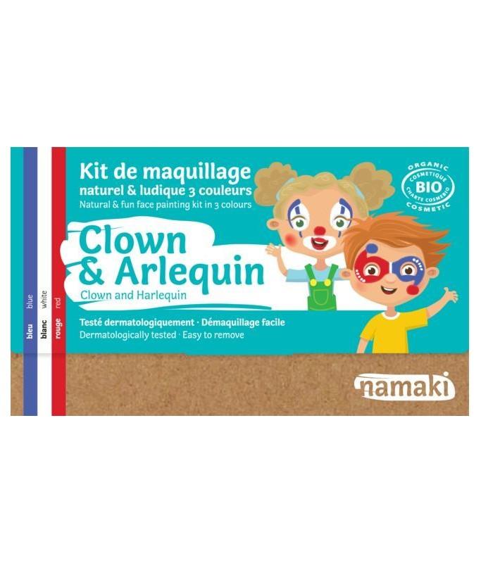 Kit 3 couleurs Clown & Arlequin BIO
