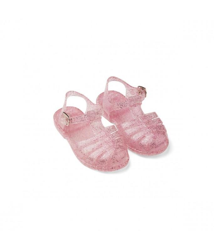 Sandales roses paillettes - taille 19