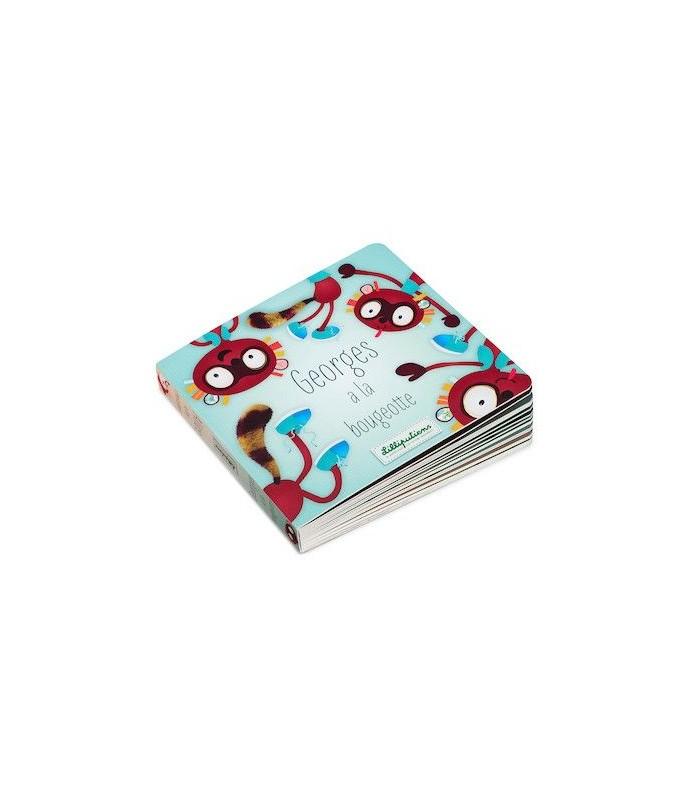 Livre : Georges a la bougeotte / Alice a les chocottes